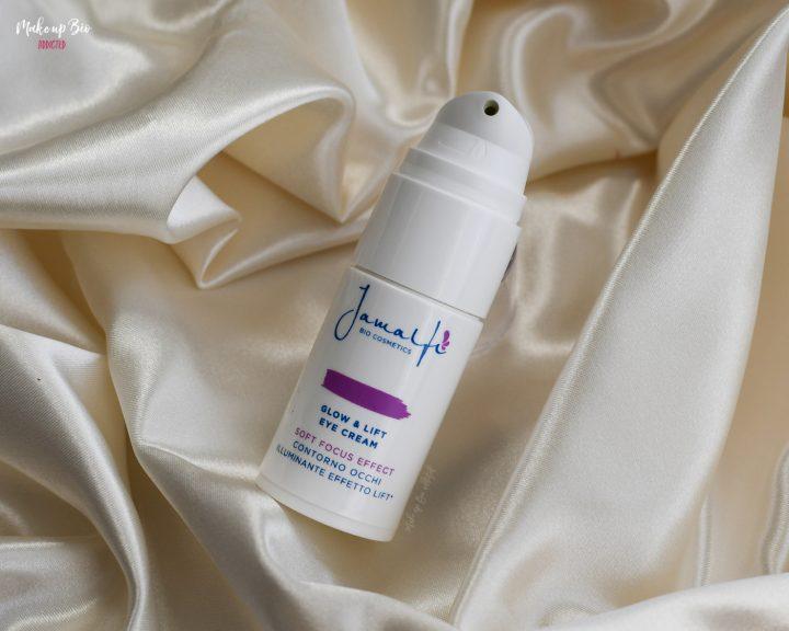 Glow & Lift eye cream di Jamalfi dosatore