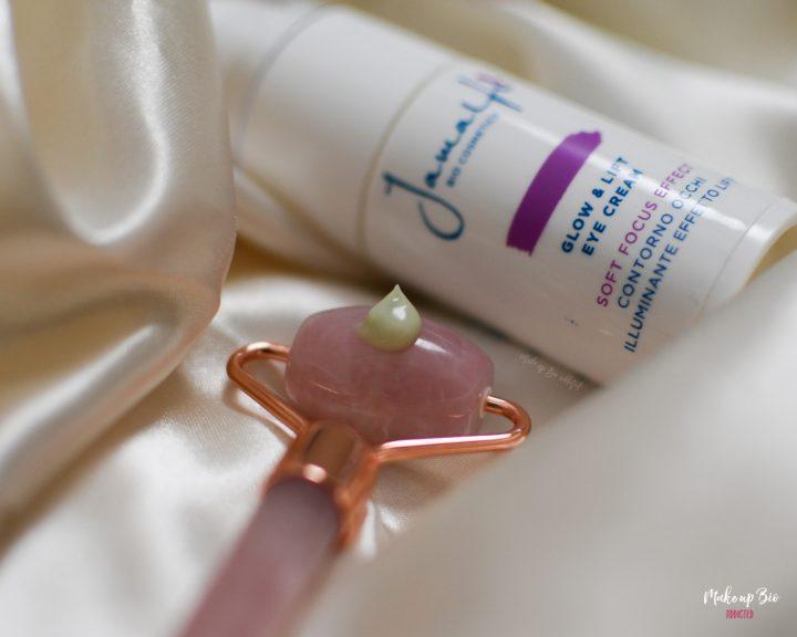 Glow & Lift eye cream di Jamalfi texture