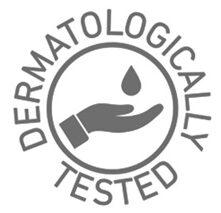 logo dermatologically tested